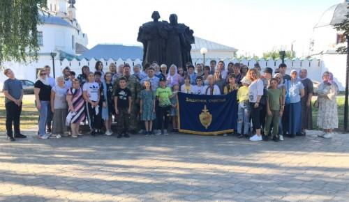 Экскурсия для детей сотрудников МЧС, погибших при исполнении служебного долга