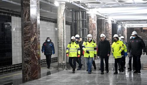 Около станции метро «Каховская» благоустроят более 40 тысяч кв. метров прилегающей территории