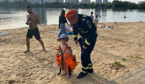 Мы за детскую безопасность на воде!