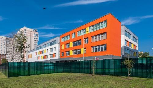 Собянин открыл в Щербинке новую школу, рассчитанную на 550 учеников