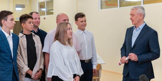 Собянин: В Москве к 1 сентября откроется 25 новых детских садов и школ