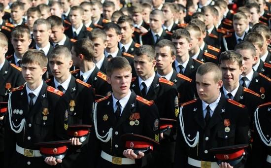 """Школа №170 объявила набор в 7 класс проекта """"Кадетский класс в московской школе"""""""