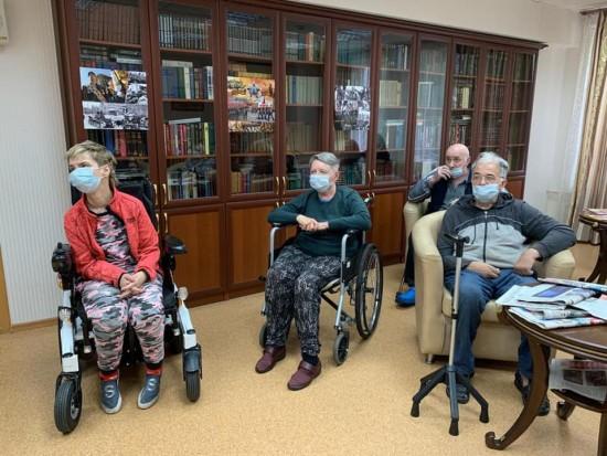 Пансионат для ветеранов труда №6 провел литературную встречу, посвященную писателю Александру Грину