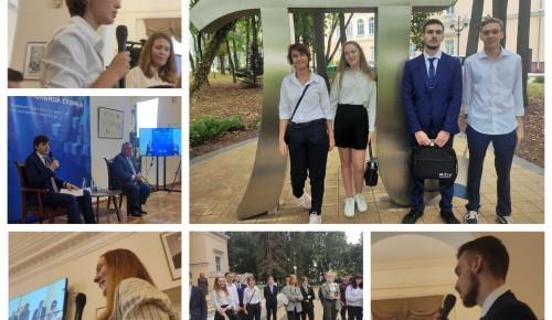 Ученики школы №1534 встретились с министром просвещения РФ