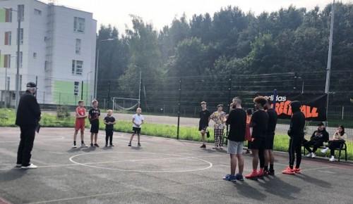 Досуговый центр «Обручевский» провел соревнования по стритболу