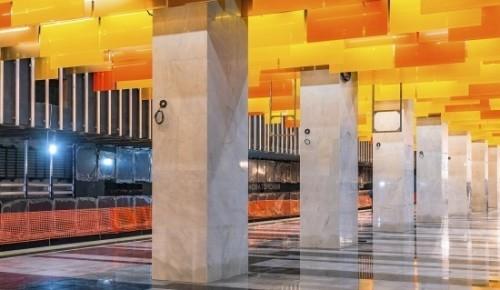 Готовность станции «Новаторская» оценивается в 84 процента