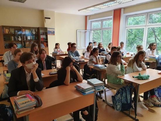 В школе №1273 прошел Всероссийский открытый урок, посвященный Году науки и технологий