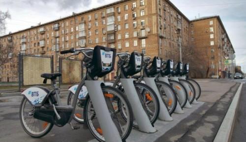 Система велопроката  в Котловке будет работать до ноября