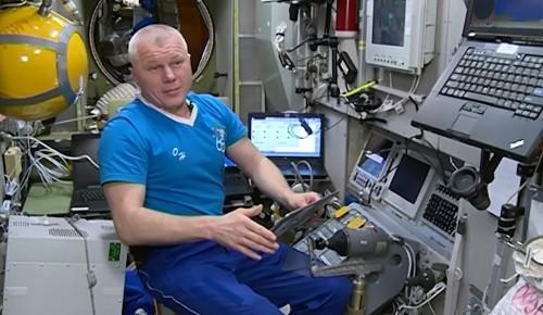 Находящийся на орбите космонавт Новицкий подал заявку на участие в онлайн-голосовании