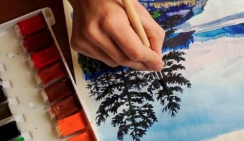 10 сентября в библиотеке №173 пройдет открытый урок по правополушарному рисованию