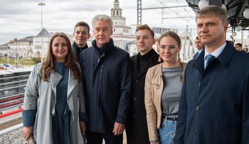 Собянин предложил обсудить с москвичами название новой станции МЦД у Комсомольской площади