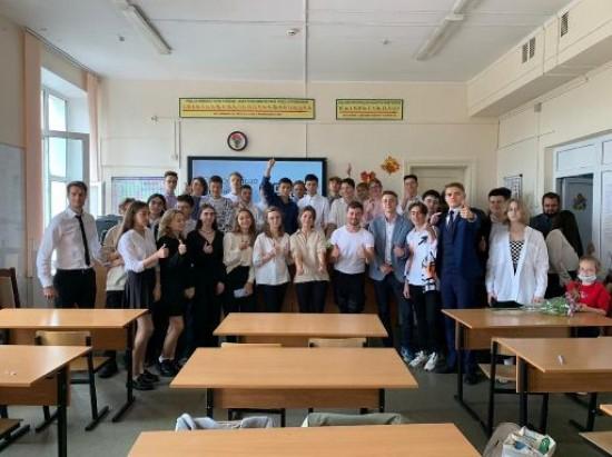 Предприниматель поделился опытом с учениками школы №2086