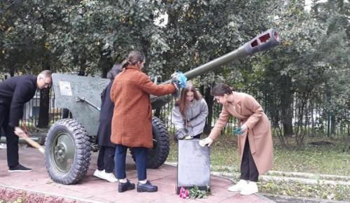Школа №1103 имени Героя РФ А.В. Соломатина Ясенева провела Мемориально-патронатную акцию