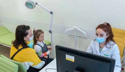 Треть детских поликлиник Москвы до конца года полностью перейдут на электронные медкарты