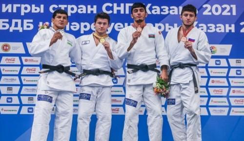 """Воспитанники """"Самбо-70"""" завоевали на I играх стран СНГ по дзюдо 4 медали"""