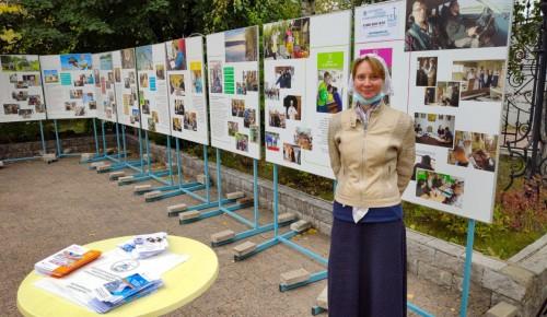 На территории храма Евфросинии Московской прошла антинаркотическая выставка