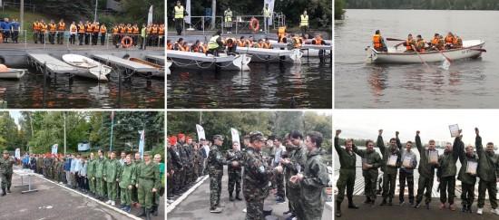 """Юнармейцы ОК """"Юго-Запад"""" заняли третье место в гонке на шлюпках"""