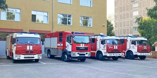 В столице завершен ремонт исторического здания пожарно-спасательной части
