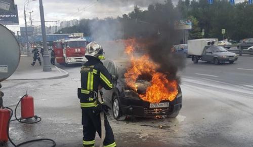 МЧС Москвы рекомендует автолюбителям проверить в своей машине огнетушитель