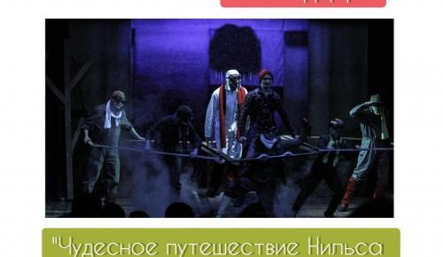 """Театр «Вернадского, 13» приглашает на спектакль """"Чудесное путешествие Нильса с дикими гусями"""" 17 сентября"""