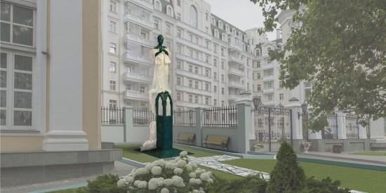 Собянин поддержал установку памятника Галине Вишневской на Остоженке