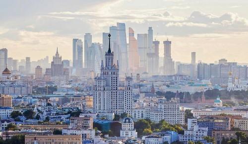 Собянин назвал знаковые объекты программы благоустройства Москвы этого года