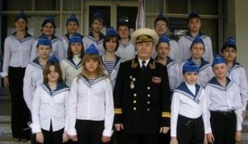 В школе № 1883 «Бутово» состоялось открытие экспозиции, посвященной вице-адмиралу В.П.Макарову