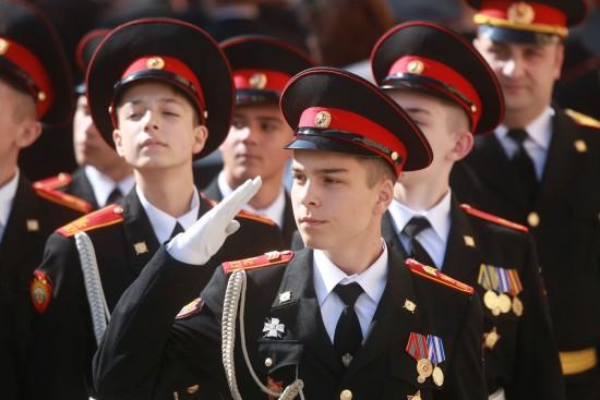 Кадеты школы №113 почтили память погибших в годы ВОВ жителей деревень района Коньково
