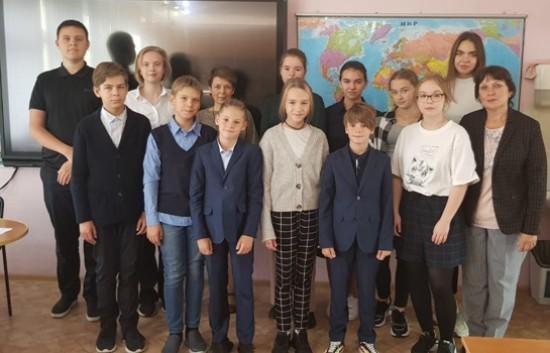 В школе №2006 Северного Бутова состоялось заседание клуба любителей географии и экологии «Пилигрим»