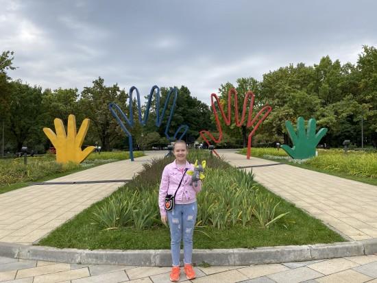 """Учащиеся школы №121 посетили парк имени 50-летия Октября в рамках олимпиады """"Музеи. Парки. Усадьбы"""""""