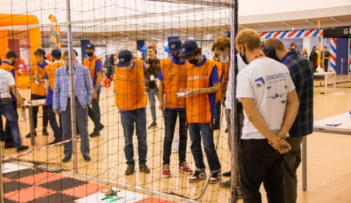 Команда детского технопарка МФЮА «Наукоград» заняла 4 место на чемпионате «АВИАРОБОТЕХ - старт»