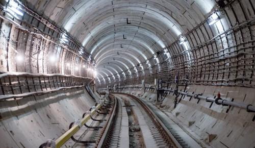 Собянин заявил о высокой степени готовности Большой кольцевой линии метро