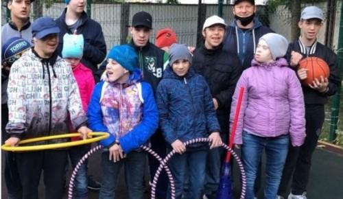 """14 сентября в центре """"Юнона"""" для воспитанников состоялся праздник спорта для любителей физкультуры"""