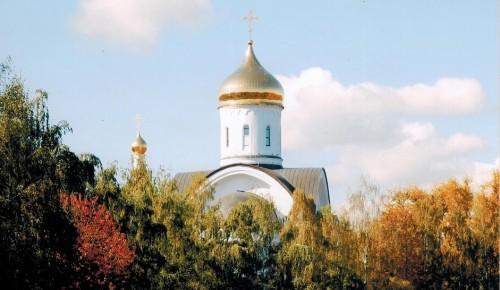 Храм Евфросинии Московской набирает детей до 7 лет в воскресную школу