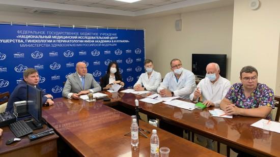 Медики центра акушерства имени Кулакова провели онлайн-встречу с коллегами из Пекина