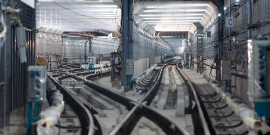 Собянин провёл технический пуск участка «Давыдково – Проспекта Вернадского» БКЛ метро