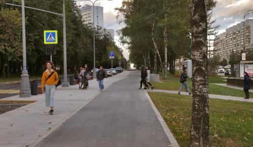 Новый прогулочный маршрут появился на Ленинском проспекте
