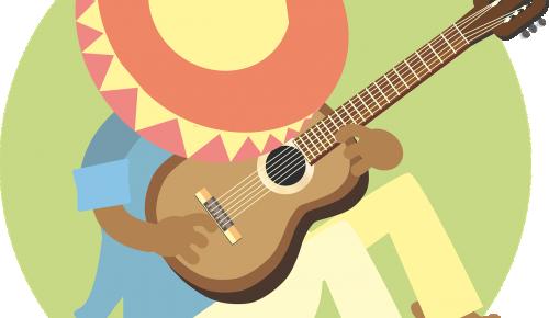В ДМШ им. Мясковского ученик сыграл «Ночной экспресс» на гитаре в честь Международного дня музыки кантри