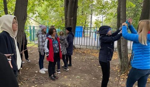 В школе №554 ученики 5-7 и 10-11 классов посетили центр краеведения и музей