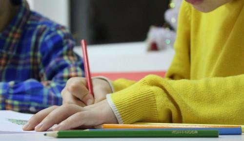 Школа №2114 рассказала о своей студии рисования