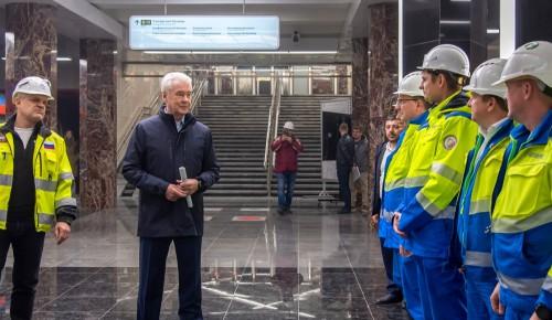 Технический пуск новых станций БКЛ на Юго-Западе Москвы