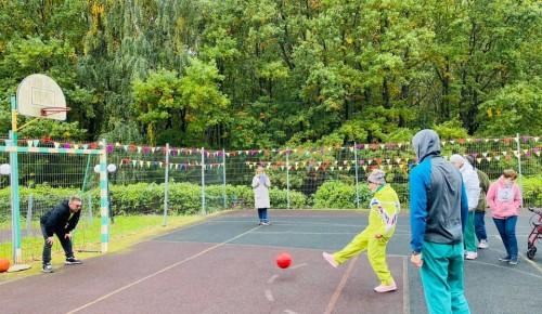 В пансионате для ветеранов труда №6 прошли Осенние спортивные игры