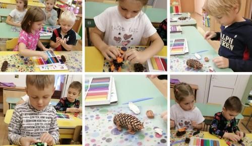 """В образовательном комплексе «Юго-Запад» прошли занятия для дошкольников на тему """"Что нам осень принесла?"""""""