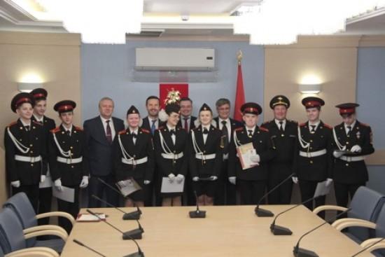 Школьники из Ясенева готовятся к региональному форуму движения «ЮНАРМИЯ»