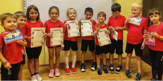 В детском саду в Черемушках определили лучших шашистов