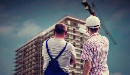 В Зюзине начали строить дом по программе реновации