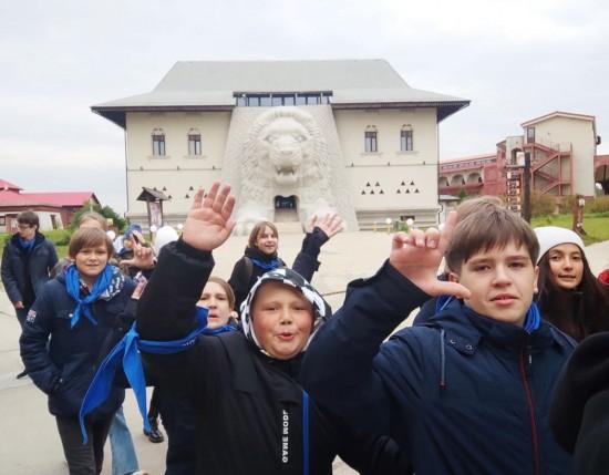 """Ученики школы №1945 провели целый день в """"Этномире"""" и библиотеке"""