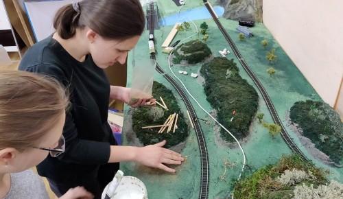 В школе №538 ученики создают мини-модель района Зюзино