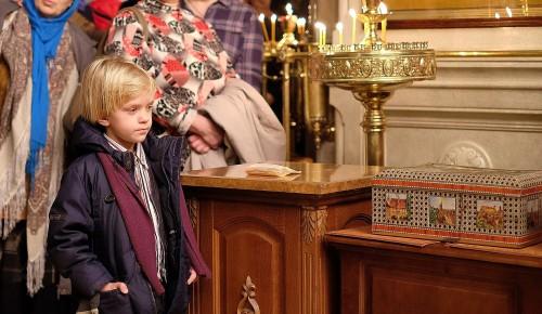 В Воскресной школе храма Святых Бориса и Глеба 3 октября состоятся воскресные встречи
