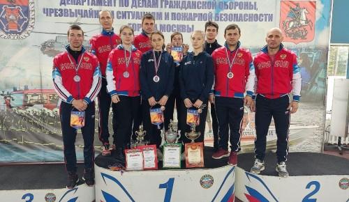 В Москве завершены Первенство Москвы и Чемпионат по пожарно-спасательному спорту